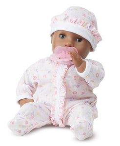 "Melissa and Doug Mine to Love - Gabrielle 12"" Baby Doll - All-Star Learning Inc. - Proudly Canadian"