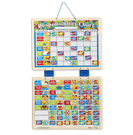 Melissa and Doug Magnetic Responsibility Chart - All-Star Learning Inc. - Proudly Canadian