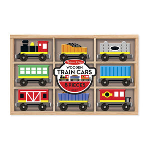 Melissa and Doug Wooden Train Cars - All-Star Learning Inc. - Proudly Canadian