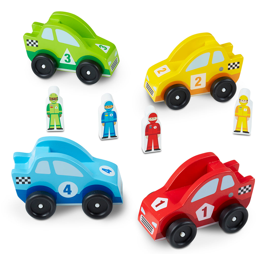 Melissa and Doug Race Car Vehicle Set - All-Star Learning Inc. - Proudly Canadian