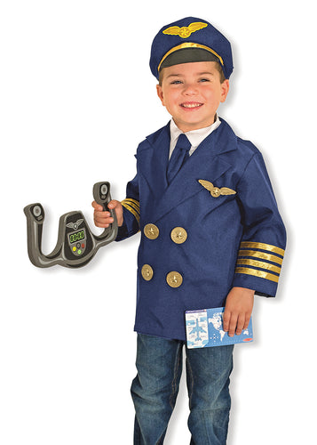 Melissa and Doug Pilot Role Play Costume Set - All-Star Learning Inc. - Proudly Canadian