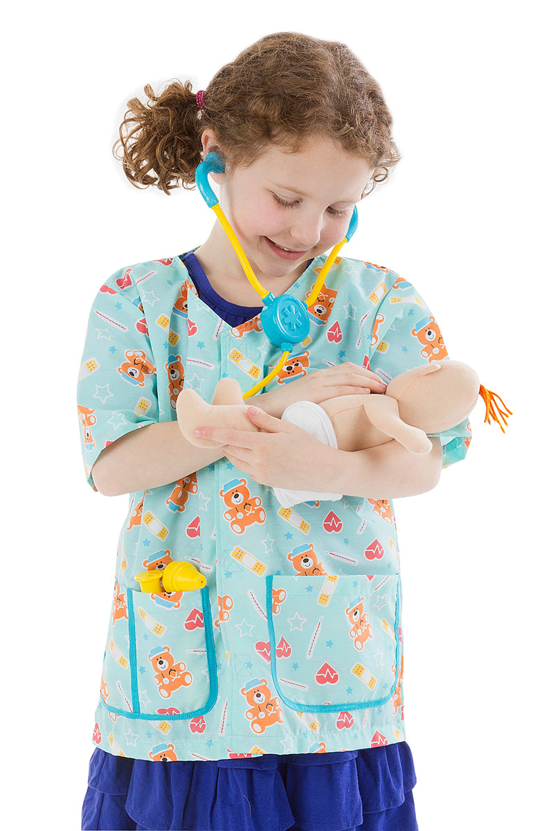 Melissa and Doug Pediatric Nurse Role Play Costume Set - All-Star Learning Inc. - Proudly Canadian