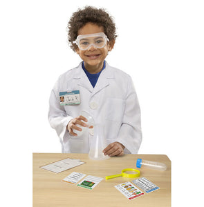 Melissa and Doug Scientist Role Play Costume Set - All-Star Learning Inc. - Proudly Canadian