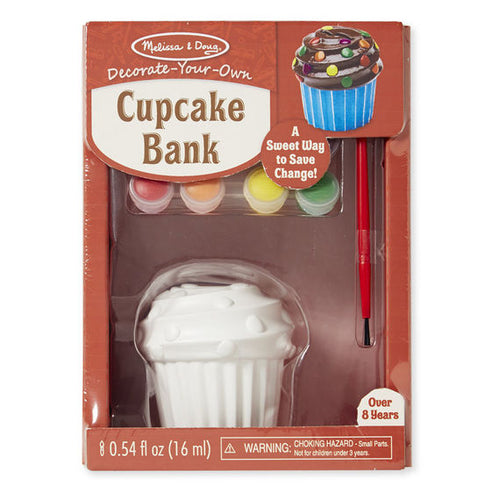 Melissa and Doug Decorate-Your-Own Cupcake Bank - All-Star Learning Inc. - Proudly Canadian
