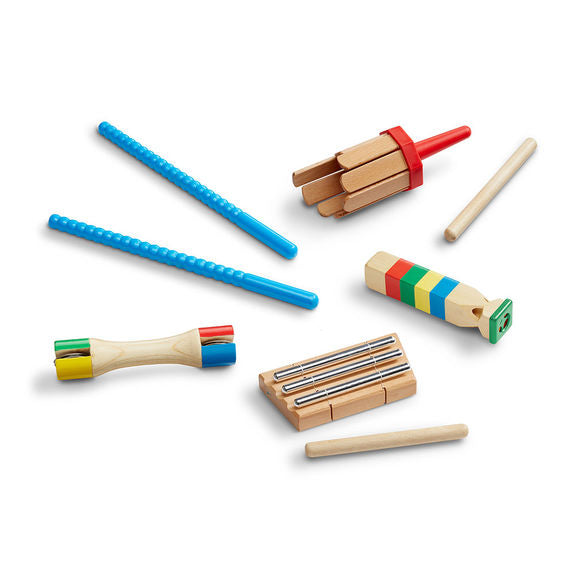 Melissa and Doug Band-in-a-Box - Chime! Whistle! Jingle! - All-Star Learning Inc. - Proudly Canadian