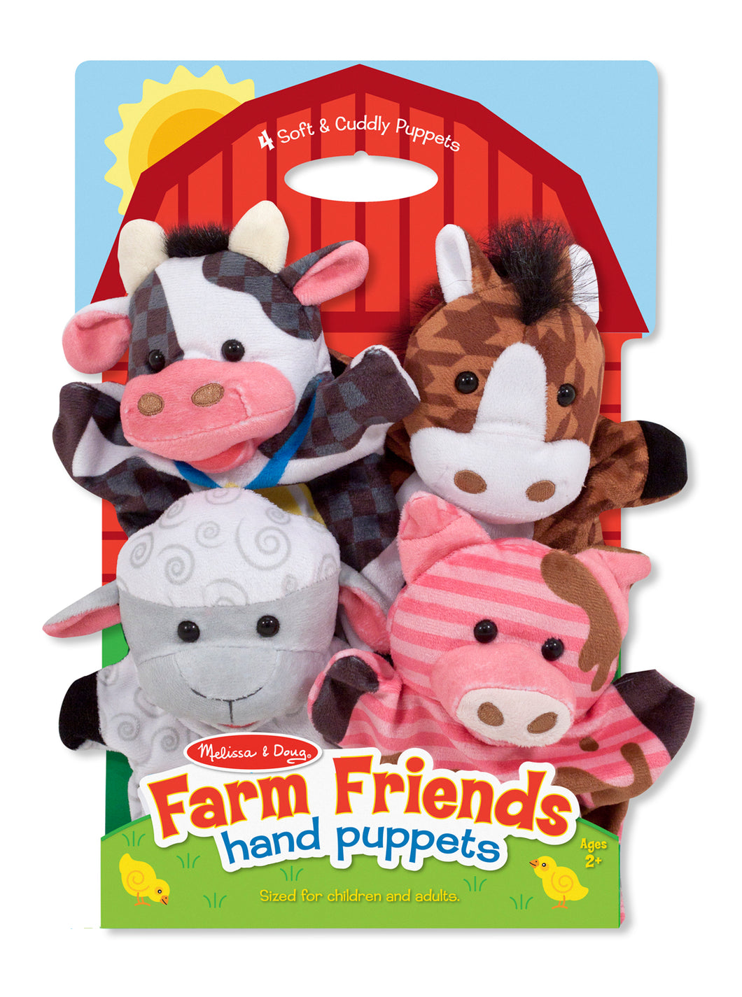 Melissa and Doug Farm Friends Hand Puppets - All-Star Learning Inc. - Proudly Canadian