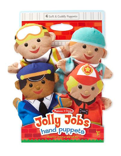 Melissa and Doug Jolly Helpers Hand Puppets - All-Star Learning Inc. - Proudly Canadian