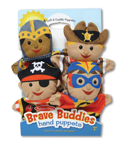Melissa and Doug Bold Buddies Hand Puppets - All-Star Learning Inc. - Proudly Canadian