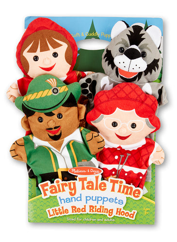 Melissa and Doug Fairy Tale Time Hand Puppets - All-Star Learning Inc. - Proudly Canadian