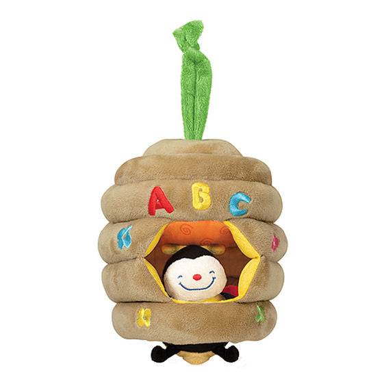 Melissa and Doug Musical Pull Beehive Baby Toy - All-Star Learning Inc. - Proudly Canadian