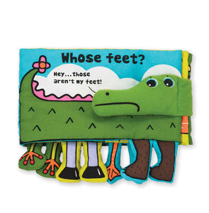 Melissa and Doug Soft Activity Book - Whose Feet? - All-Star Learning Inc. - Proudly Canadian