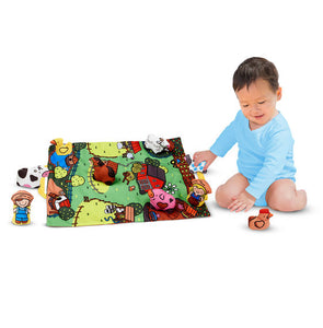 Melissa and Doug Take-Along Farm Play Mat - All-Star Learning Inc. - Proudly Canadian