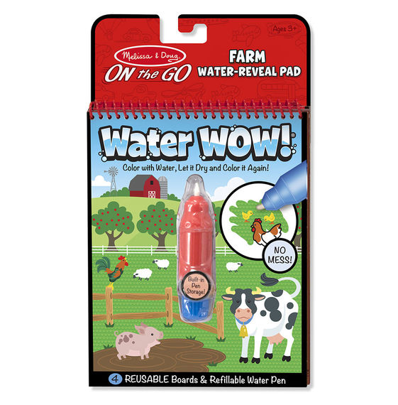 Melissa and Doug Water WOW! Farm - ON the GO Travel Activity - All-Star Learning Inc. - Proudly Canadian