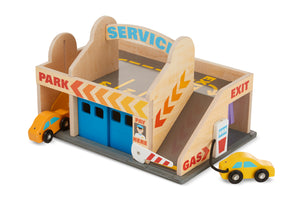 Melissa and Doug Service Station Parking Garage - All-Star Learning Inc. - Proudly Canadian