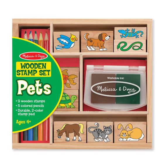 Melissa and Doug Pets Stamp Set - All-Star Learning Inc. - Proudly Canadian