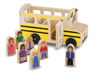 Melissa and Doug Wooden Classic School Bus - All-Star Learning Inc. - Proudly Canadian