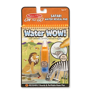 Melissa and Doug Water Wow! - Safari Water Reveal Pad - ON the GO Travel Activity - All-Star Learning Inc. - Proudly Canadian
