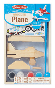 Melissa and Doug Decorate-Your-Own Wooden Plane - All-Star Learning Inc. - Proudly Canadian