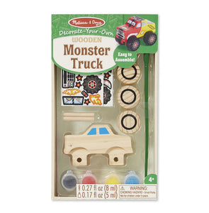 Melissa and Doug Decorate-Your-Own Monster Truck - All-Star Learning Inc. - Proudly Canadian