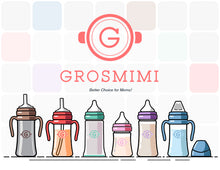Grosmimi Tumbler Stainless 300mL (Aqua Green) - All-Star Learning Inc. - Proudly Canadian