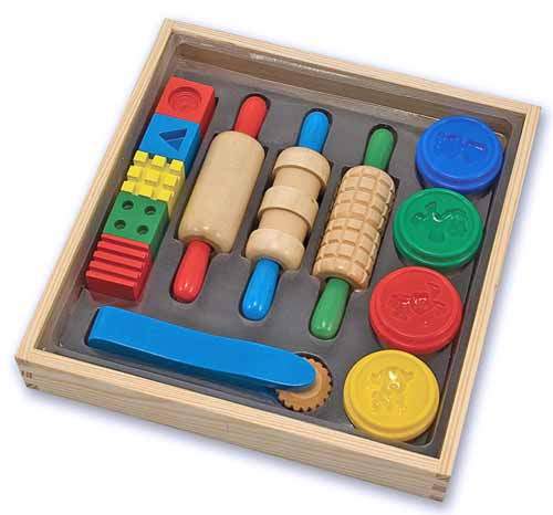 Melissa and Doug Shape, Model & Mold Clay Play - All-Star Learning Inc. - Proudly Canadian