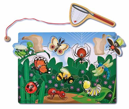 Melissa and Doug Bug-Catching Magnetic Puzzle Game - All-Star Learning Inc. - Proudly Canadian
