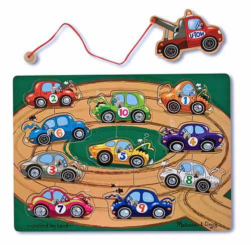 Melissa and Doug Tow Truck Magnetic Puzzle Game - All-Star Learning Inc. - Proudly Canadian
