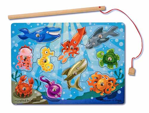 Melissa and Doug Fishing Magnetic Puzzle Game - All-Star Learning Inc. - Proudly Canadian