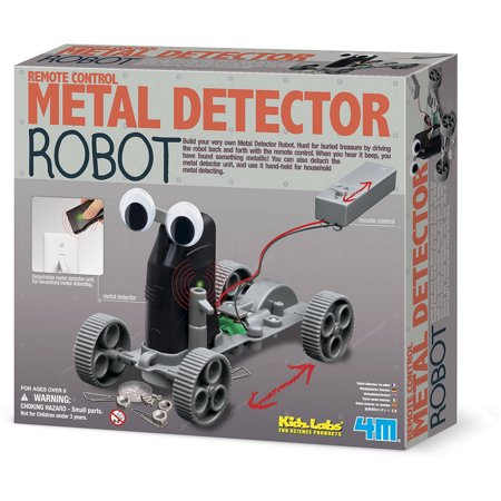 4M Metal Detector Robot Kit - All-Star Learning Inc. - Proudly Canadian