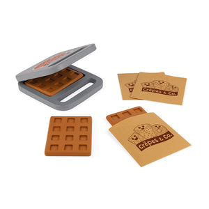 Janod Crepe & Co Waffle House (Wood) - All-Star Learning Inc. - Proudly Canadian