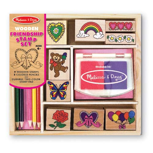 Melissa and Doug Friendship Stamp Set - All-Star Learning Inc. - Proudly Canadian