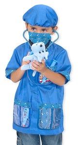 Melissa and Doug Veterinarian Role Play Costume Set - All-Star Learning Inc. - Proudly Canadian