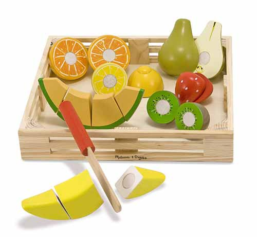Melissa and Doug Cutting Fruit - All-Star Learning Inc. - Proudly Canadian