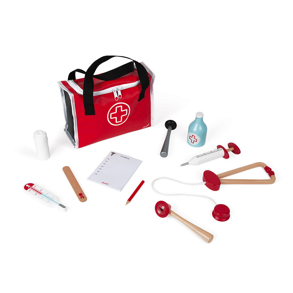 Janod Doctor's Suitcase (Wood) - All-Star Learning Inc. - Proudly Canadian