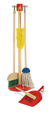 Melissa and Doug Let's Play House! Dust! Sweep! Mop! - All-Star Learning Inc. - Proudly Canadian