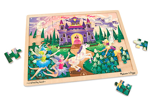Melissa and Doug Fairy Fantasy Jigsaw Puzzle - 48 Pieces - All-Star Learning Inc. - Proudly Canadian