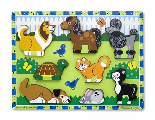 Melissa and Doug Pets Chunky Puzzle - All-Star Learning Inc. - Proudly Canadian
