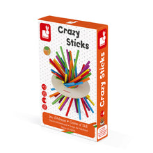 Janod Game Of Skill - Crazy Sticks (Wood) - All-Star Learning Inc. - Proudly Canadian