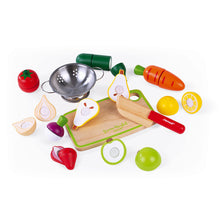 Janod Green Market Fruits & Vegetables Maxi Set - All-Star Learning Inc. - Proudly Canadian
