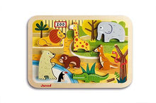 Janod Chunky Puzzle Zoo 7 Pieces (Wood)