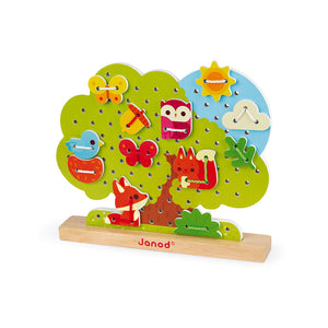 Janod Lace-Up Tree (Wood) - All-Star Learning Inc. - Proudly Canadian