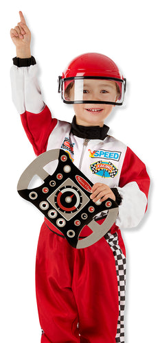 Melissa and Doug Race Car Driver Role Play Costume Set - All-Star Learning Inc. - Proudly Canadian
