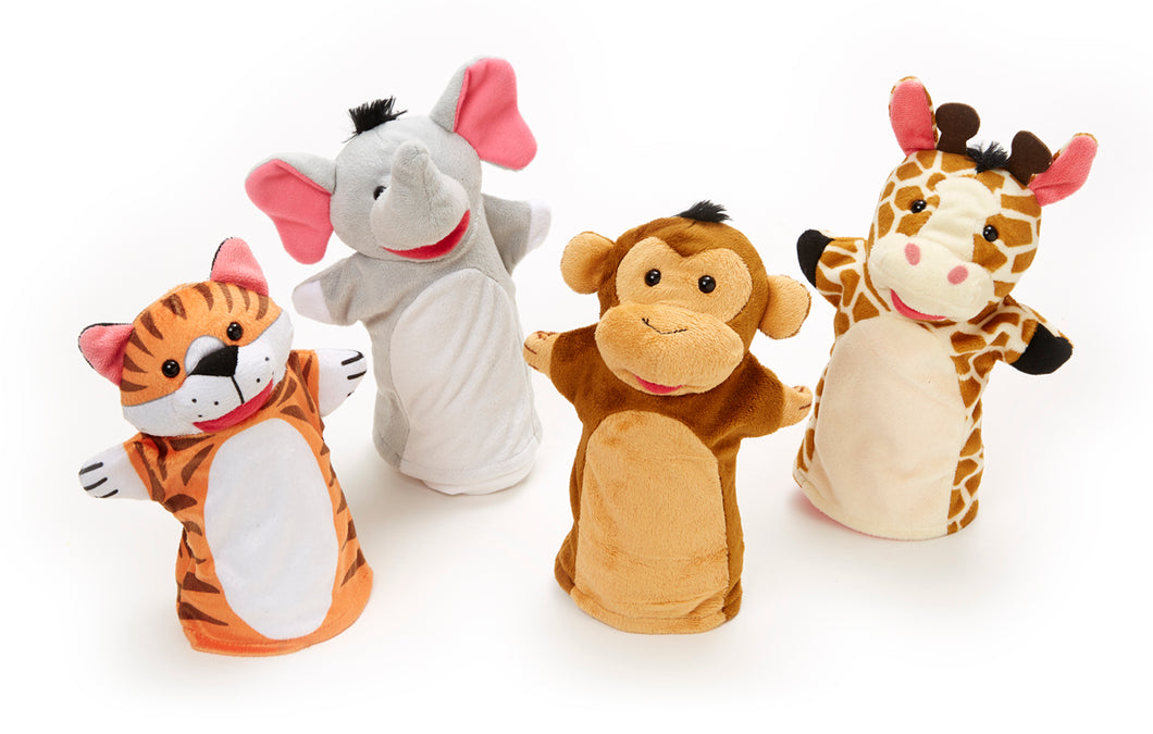 Melissa and Doug Zoo Friends Hand Puppets - All-Star Learning Inc. - Proudly Canadian