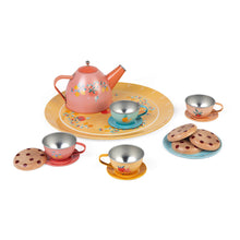 Janod Metal Tea Set Dinnerware - All-Star Learning Inc. - Proudly Canadian