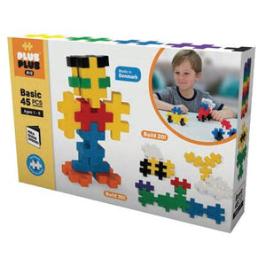 Plus-Plus BIG Basic 45pcs - Basic - All-Star Learning Inc. - Proudly Canadian