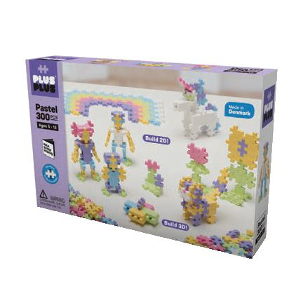 Plus-Plus Mini Pastel 300pcs - All-Star Learning Inc. - Proudly Canadian