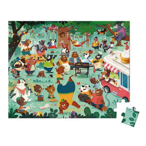 Janod Puzzle Family Bears - All-Star Learning Inc. - Proudly Canadian