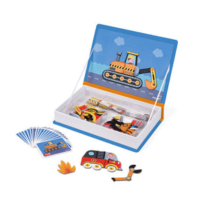 Janod Racers Magnetibook - All-Star Learning Inc. - Proudly Canadian