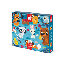 Janod Tactile Puzzle Forest Animals 20 Pieces - All-Star Learning Inc. - Proudly Canadian
