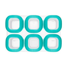 Oxo Tot Baby Blocks (2oz.) - Teal - All-Star Learning Inc. - Proudly Canadian